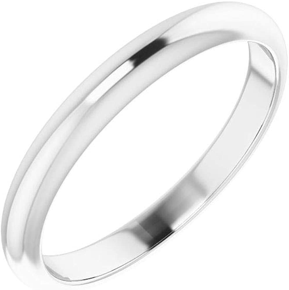 Tarnish Resistant Solid 925 Limited time sale Sterling Silver Ranking TOP9 Notched Curved Weddi