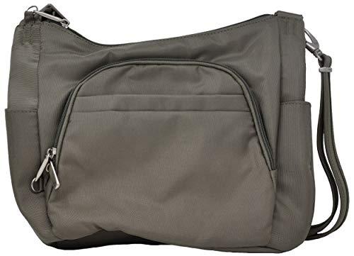 Travelon Anti-Theft Cross-Body Bucket Bag (Rock)
