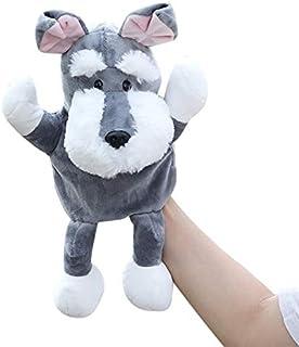 Acheter 2 Couleurs Bébé Enfants Enfant Animal Doigt Doigt Marionnette Gant Mignon De Bande Dessinée Infantile Enfant Jouet En Peluche Marionnettes