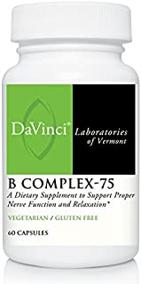 DaVinci Labs - B Complex-75, 60 Capsules