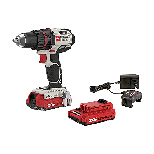 PORTER-CABLE 2-Inch Cordless Drill with 20v Battery