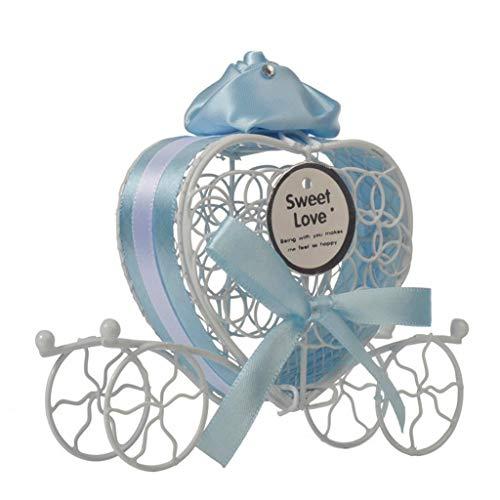 Sulifor 1 Neue Pralinenschachtel romantische Wagen Süßigkeiten Pralinenschachtel Hochzeit Vorteile