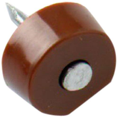 Bulk Hardware BH01150 Regalbretthalterungen zum Hineintreiben - Braun (Packung à 20), Weiß, Stück