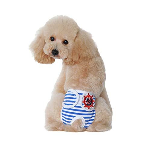 Ropa Interior Para Perros, Cómoda Y Suave De Algodón, Pantalones Sanitarios Para Mascotas, Ropa Interior Fisiológica Para Cachorros, Ropa Interior Anti-molestias, Pañales Reutilizables Para Perros