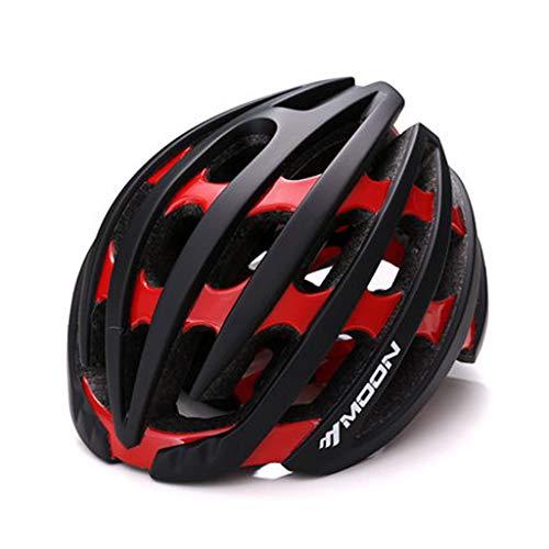 JM- Fahrradhelm integrierter Fahrradhelm Reithelm Herren und Damen Radsportausrüstung matt