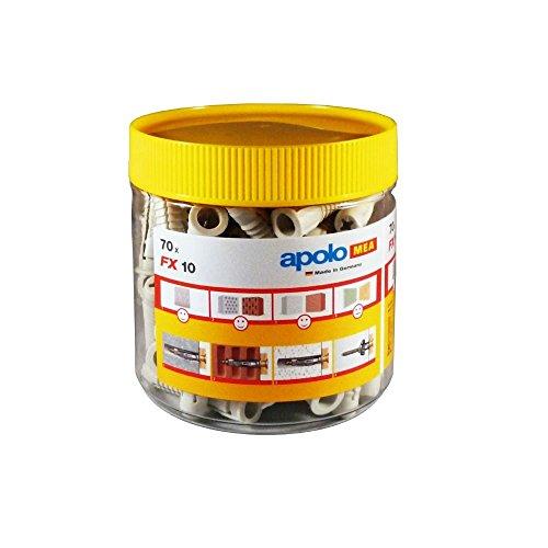 Taco de Nylon para Hueco Hr 8-40 50 Unidades Apolo Mea 9840Hr