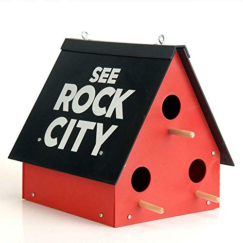 ESKONI See Rock City Birdhouse Purp…