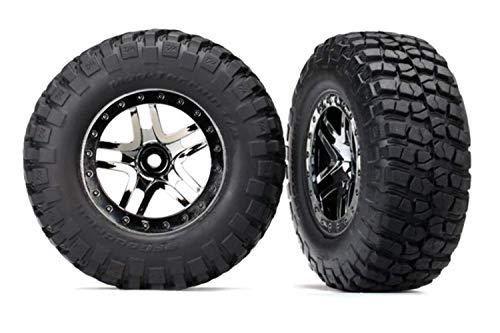 Traxxas Neumáticos/Ruedas Ensambladas Pegadas (SCT Split-Spoke Beadlock Ruedas) Slash 4X4
