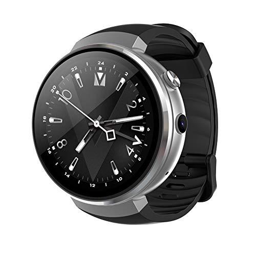 Smart Watch Android Und IOS Sport Armband SIM Herzfrequenz Überwachung Zahlung 1 + 16GB7.0 Schritt GPS,Silver