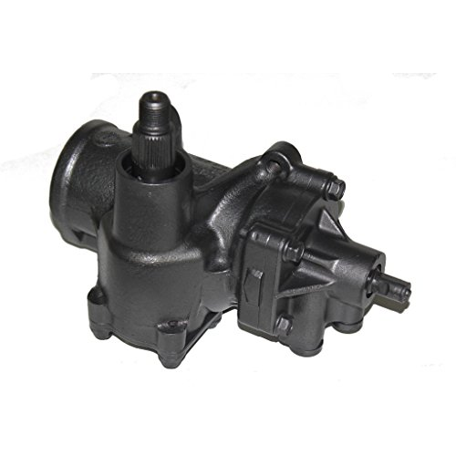 Detroit Axle - Remanufactured Complete Power Steering Gear Box Assembly w/ 3 Bolt Valve Housing for Chevrolet Silverado 1500, Tahoe & GMC Sierra 1500, Yukon Trucks w/Off-Road Package