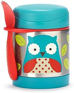 美国Skip Hop 可爱动物园保温食物壶325毫升-猫头鹰SH252375