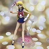 Aniiii Sailor Moon Minako Aino Figura De Acción Con Accesorios Juntas Móviles Figuras De Anime Estatua Juguete Personajes De Juegos De Dibujos Animados Colecciones De Modelos Decoraciones De Escritori