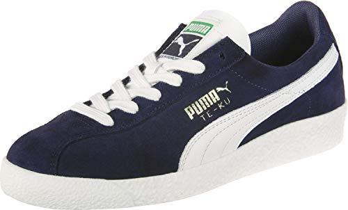 Puma Te-KU Prime, Scarpe da Ginnastica Basse Unisex-Adulto, Blu (Peacoat White 5), 43 EU