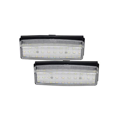 AutoStyle V-030508 - Juego de luces LED para matrícula para MX-5 NC (modelos de 2006 a 2015)