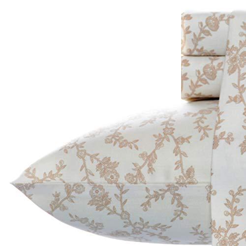 Laura Ashley Home Bettwäsche-Set, Satin, 100 % Baumwolle, seidig glatt & leuchtender Glanz, knitterfrei, Kingsize, Victoria