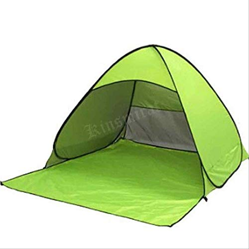 Ultralight Outdoor Camping Beach Tent Sun Shelter Sunshade Tarp Awning Garden Hammock Canopy Hiking Floor Mat 210 x 150cm green