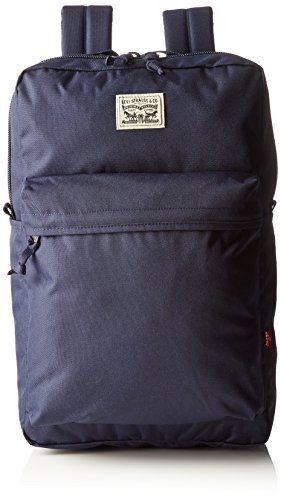 Levi's Unisex-Erwachsene the L Pack Rucksack, Blau (Navy Blue), 12 x 45 x 29 cm