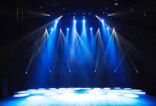 Yeele 10x8ft Free Stage Concert Backdrop Night Show Entertainment Disco Party Club Spotlight Lights Background for Photography Adult Portrait Photo Booth Video Shooting Vinyl Studio Props