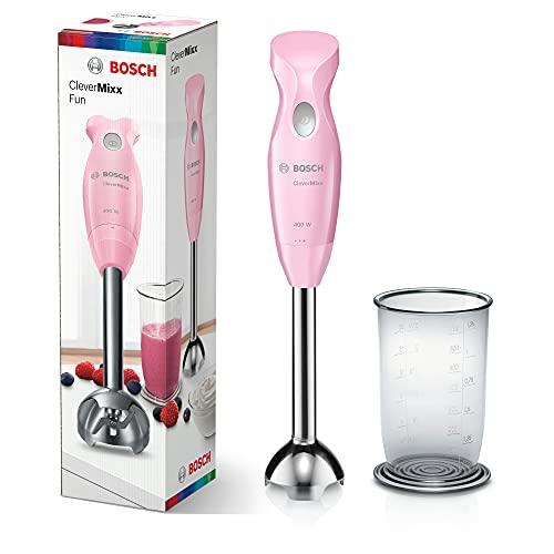 Bosch MSM2410K Stabmixer, 400 W, Gentle Pink/Grau