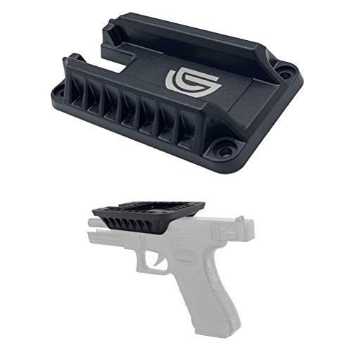 DD Magnetische Pistole Halter, Schnelle Zeichnung Gun Magnet, Verdeckter Magnethalterung zum Autos Lastwagen Fahrzeug Kassenschalter Schrank Wand