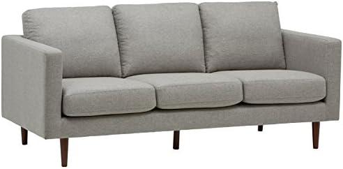 Best Amazon Brand – Rivet Revolve Modern Upholstered Sofa Couch, 80