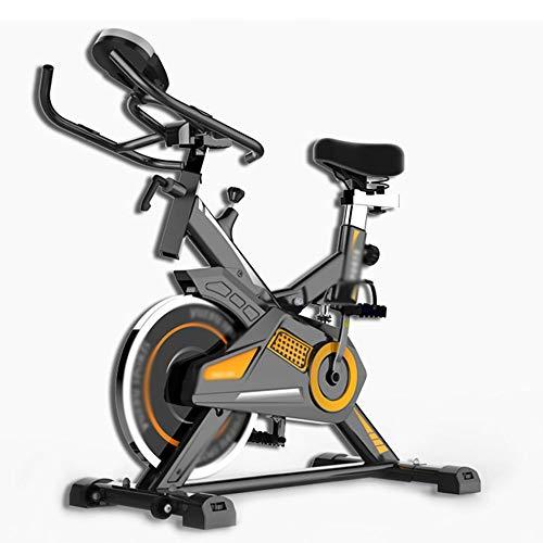 Indoor Cycling Bike, stationaire hometrainer met stille riem en verchroomd vliegwiel Verstelbaar stuur en stoel Sportuitrusting - oneindig weerstand