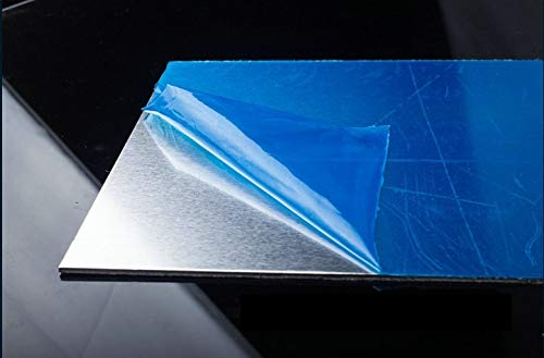 NO LOGO FMN-Tape, 1pc Chapa de Aluminio AL 1060 Pure Placa de Aluminio del Marco DIY Material Modelo Piezas de Coches metálicas for vehículos de construcción de Barcos fácil Suave