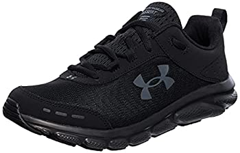 Under Armour mens Charged Assert 8 Running Shoe Black/Black 10 US