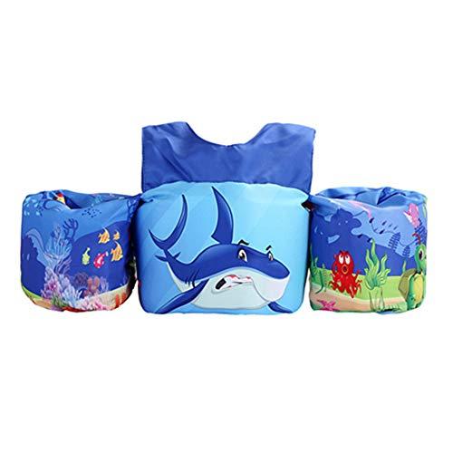 Bandas de brazo inflables para niños, chaleco flotador para natación para 2 – 6 años 0 ld, 15 – 30 kg, flotador de brazo para niñas y niños Style 3