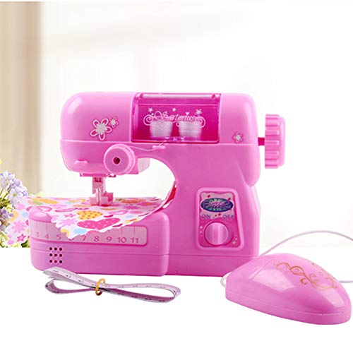 Alician Kids Girl Simulation Children Sewing Machine Small Appliances Toy Sets Pretend Toy