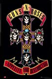 1art1 Guns N' Roses Poster und Kunststoff-Rahmen - Appetite