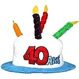 Generique - Chapeau Age 40 Adulte