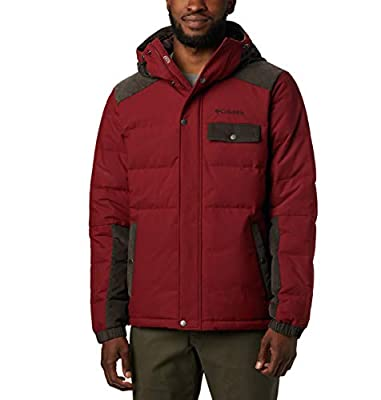 Columbia Men's Winter Challenger Hooded Jacket, Water Resistant, Insulated