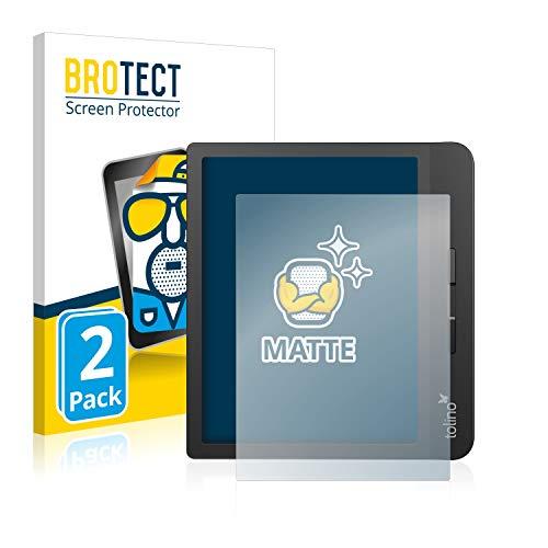 BROTECT 2X Entspiegelungs-Schutzfolie kompatibel mit Tolino Vision 5 Displayschutz-Folie Matt, Anti-Reflex, Anti-Fingerprint