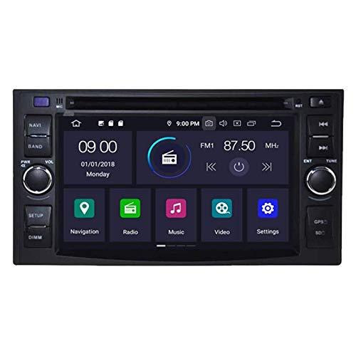 FWZJ Android 10 Car DVD GPS Estéreo para KIA Optima Cerato Spectra Sorento/Carens/Sportage/Carnival/CEED/Rio/Rondo/Lotze/X-Trek/Sedona/Picanto/Morning Navigation Radio Contr