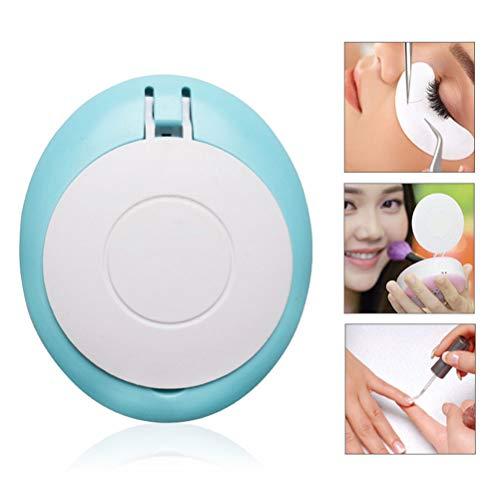 Mini Ventilateur de Poche USB Sarclle de Ventilateur de Poche False Eyelashes, Miroir de Maquillage pour Peinture Mascara, manucure - 800 mAh