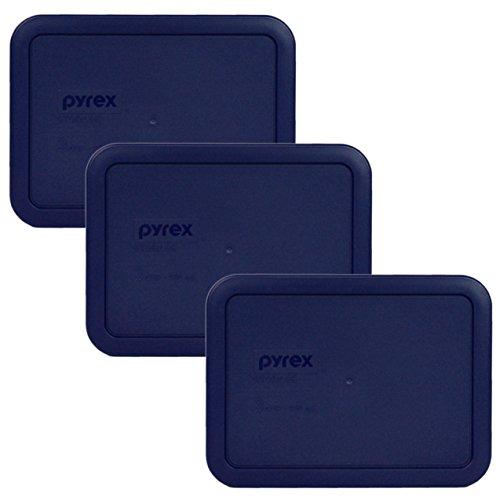 Pyrex 7210-PC Blue Lid - 3 Pack