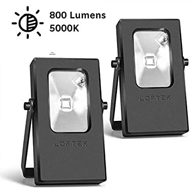 LOFTEK 10W Outdoor Plug in Light 2pack
