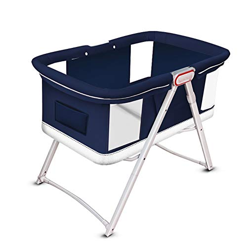 Purchase RRH-Cribs Crib Travel, Foldable Multifunction Portable Peach Skin Material Bionic Pressure ...