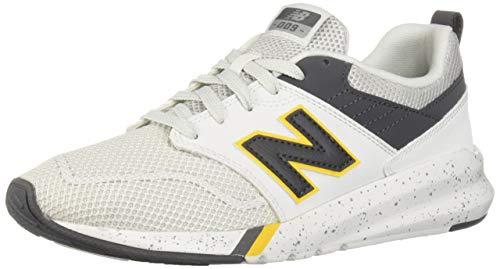 New Balance Men's 009 V1 Sneaker, Nimbus Cloud/Magnet/Canary, 12 D US