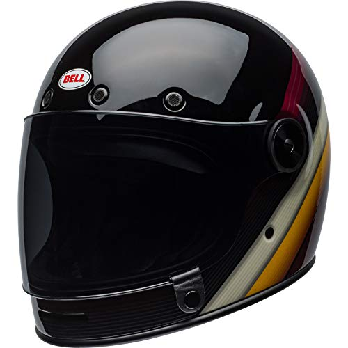 BELL Helm Bullitt Dlx Burnout schwarz/weiß/kastanienbraun, Größe XL