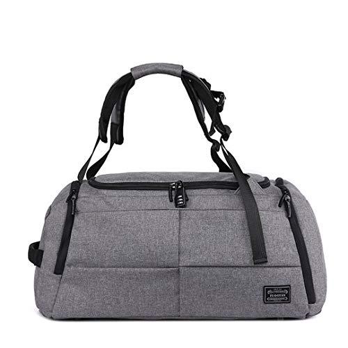 Multifunctional Travel Bags Anti-Theft Portable Travel Bags for Large Capacity Shoulder Handbag Backpack, gray (Grey) - TB190803