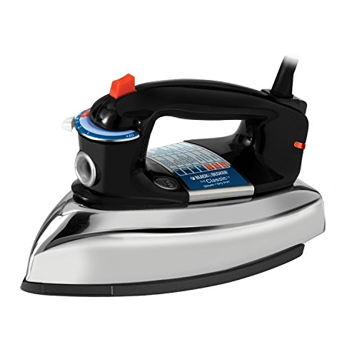 BLACK+DECKER Classic Steam Iron,...