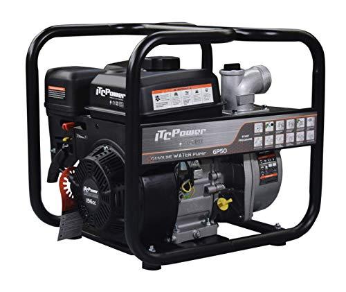 ITC Power GP50 - Motobomba de gasolina (4050 W)