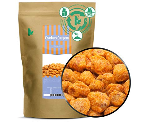 1 x 450g Katjang Erdnüsse vegetarisch laktosefrei fein gewürzt 20 % Protein