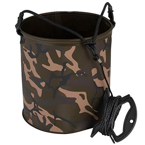 Fox Aquos Camolite Water Bucket 24,5x25cm - Wassereimer zum Karpfenangeln, Angeleimer, Eimer zum Angeln