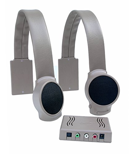 Audio Fox Wireless TV Speakers - Gray