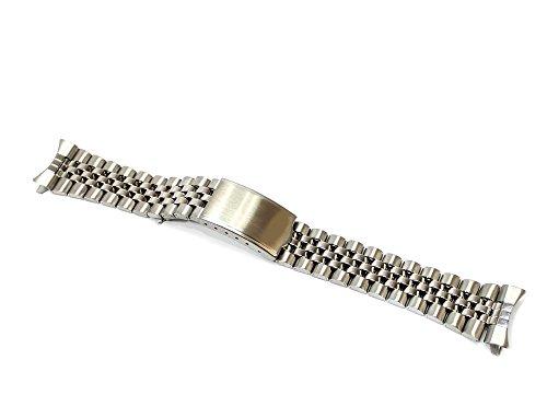 Cinturino orologio jubilee in acciaio ansa curva e/o dritta 18-20mm...