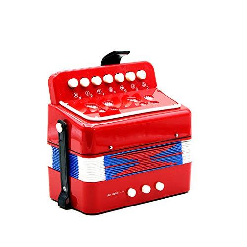 Techting 7 Botón Acordeones Clave de Juguetes educativos de