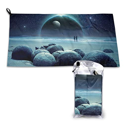 Durphel Fantasy Quick Dry Towel 15.7'' X 31.5'',Best for Gym Travel Camp Backpacking Yoga Fitness-48